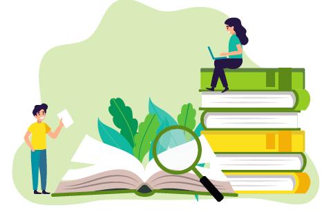 det er et savn for studentene at ikke kunnskapen er mer organisert i for eksempel bøker.