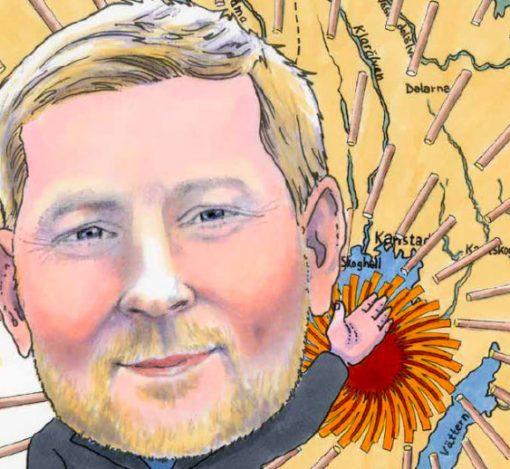Johan Djurberg overtok som virkessjef i Stora Enso etter Ulf Klensmeden som pensjonerte seg i våres. Det ble en bratt start, men Djurberg klager ikke. For svensk industri skal han sikre rundt 12 millioner m3 årlig, og mer kan bli med årene for Falunmannen.
